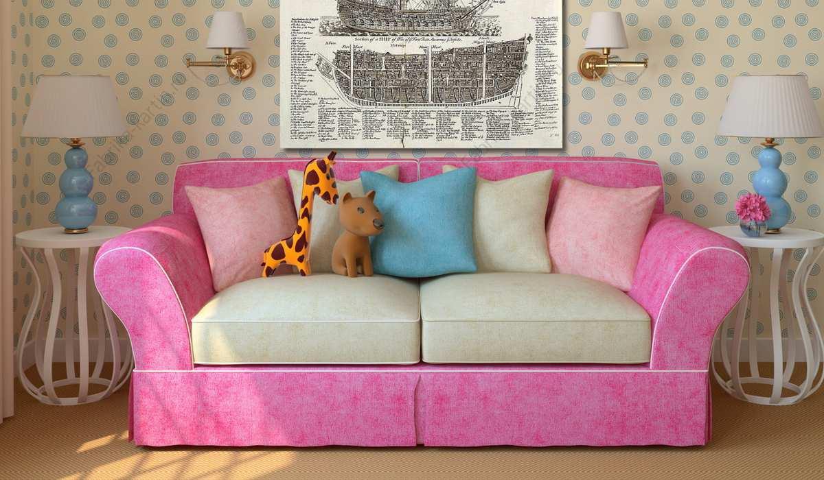 Перетяжка детского дивана