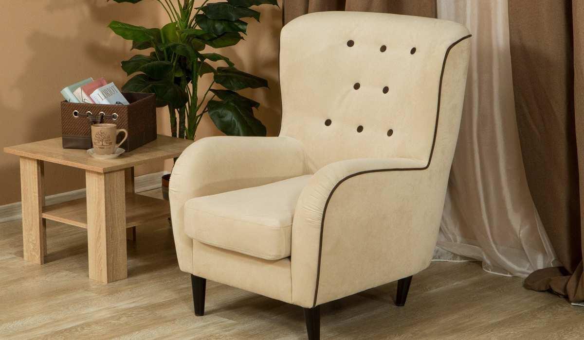 Перетяжка мягкого кресла
