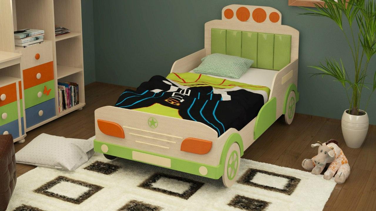 Перетяжка детской кровати