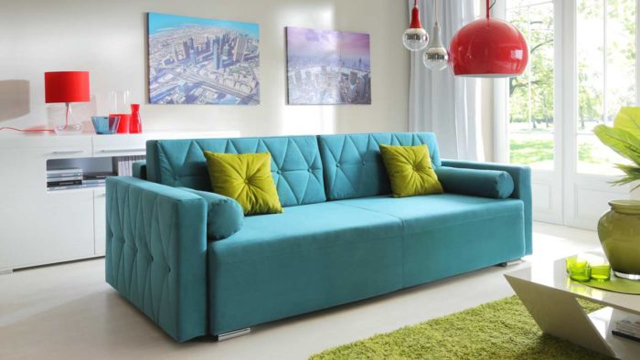 Перетяжка и обивка дивана