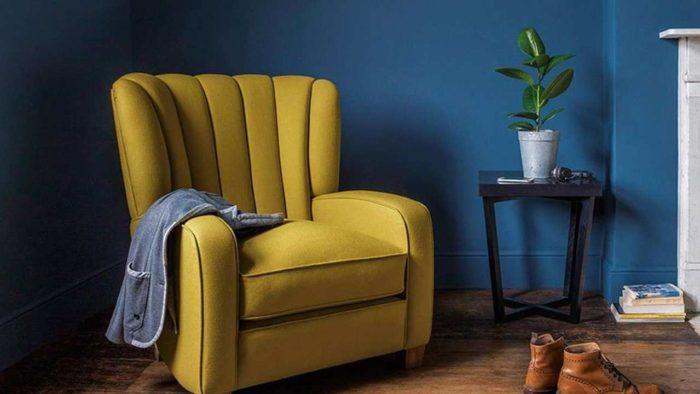 Перетяжка и обивка кресла