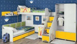 Приобретение детской мебели