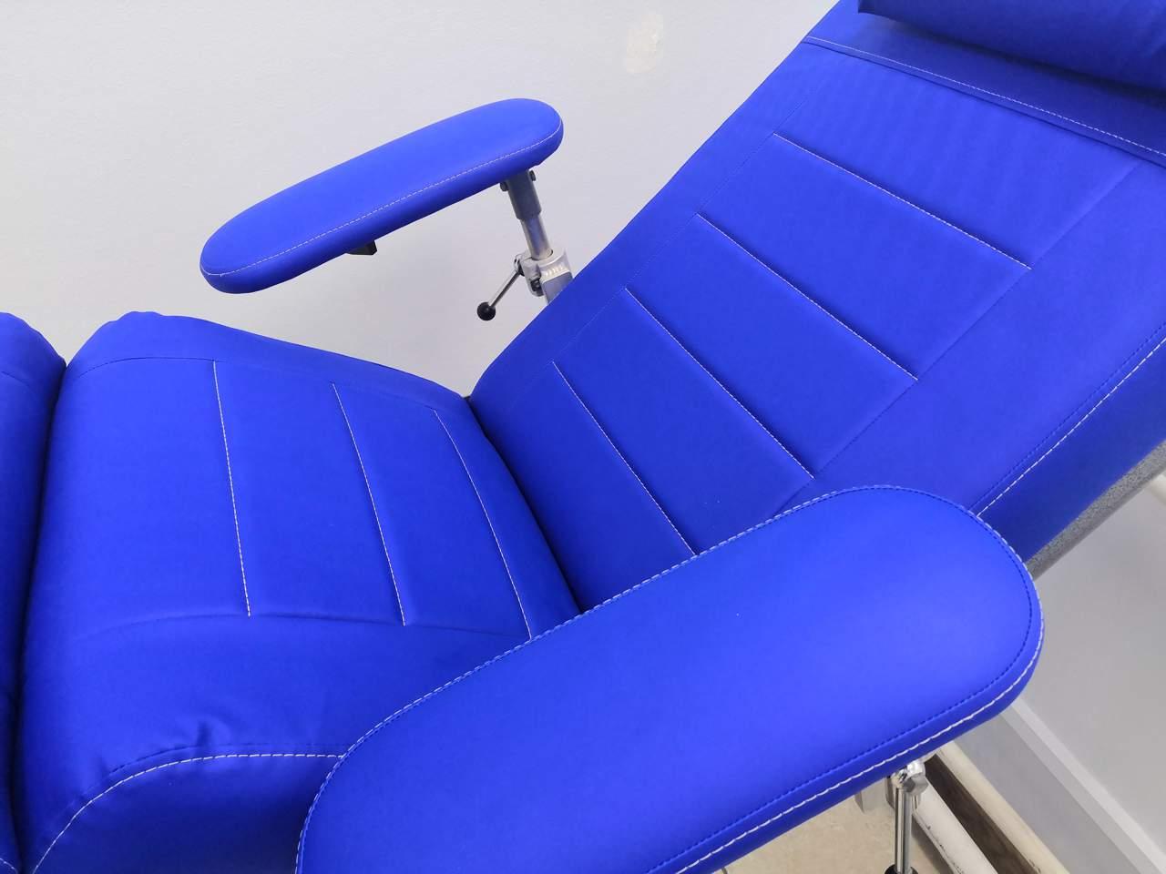 Перетяжка донорского кресла
