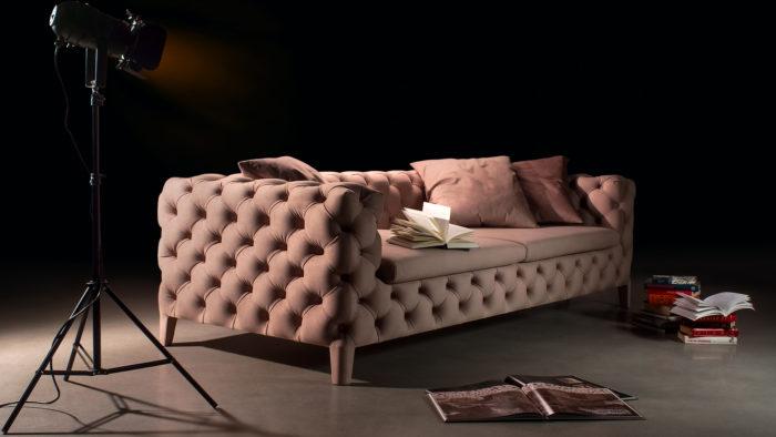 Каретная стяжка дивана